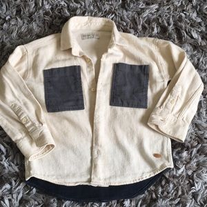 Zara kid boy shirt  5 y